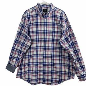 Charles Tyrwhitt Classic Fit Mens XL Flannel Shirt